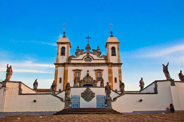 The Church of Bom Jesus de Matosinhos
